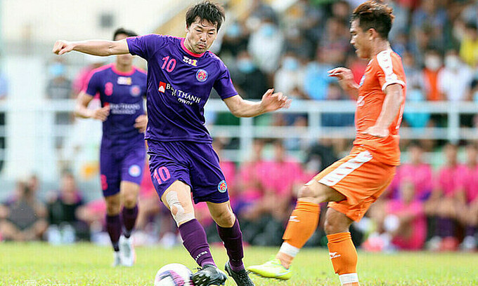 Japanese, South Korean footballers released early from Saigon FC