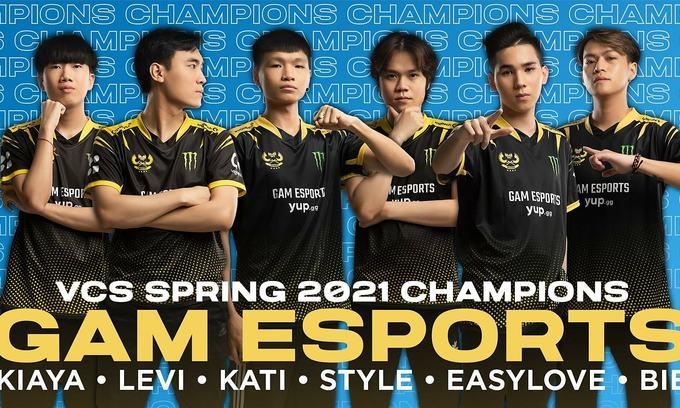 GAM Esports wins national League of Legends crown
