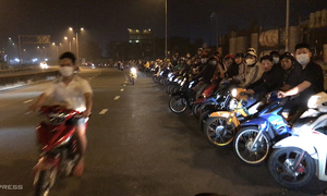 HCMC opens first-ever criminal probe into illegal bike racing
