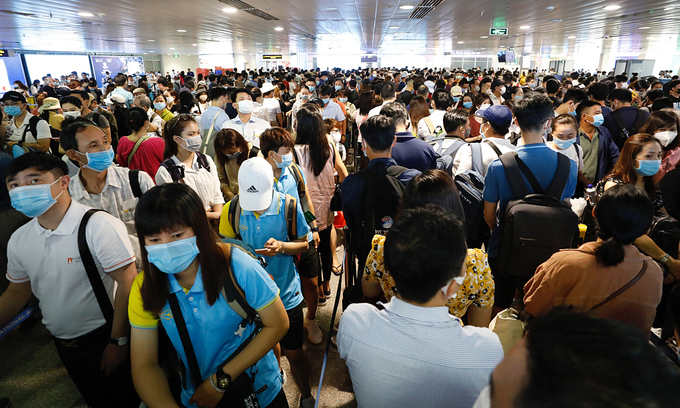 Security screening overload adds to Tan Son Nhat airport woes
