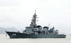 Japanese destroyer in Vietnam on friendly visit