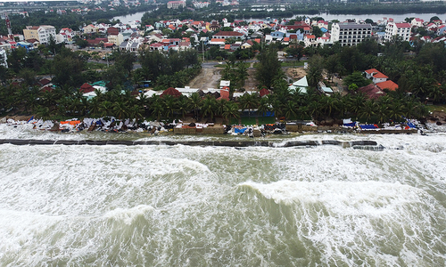 Quang Nam plans $6 mln revetment for Cua Dai beach