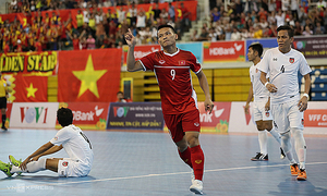 Vietnam to play Futsal World Cup qualifiers