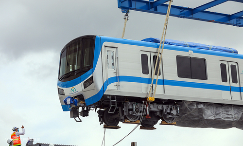 HCMC to receive six more trains for first metro line