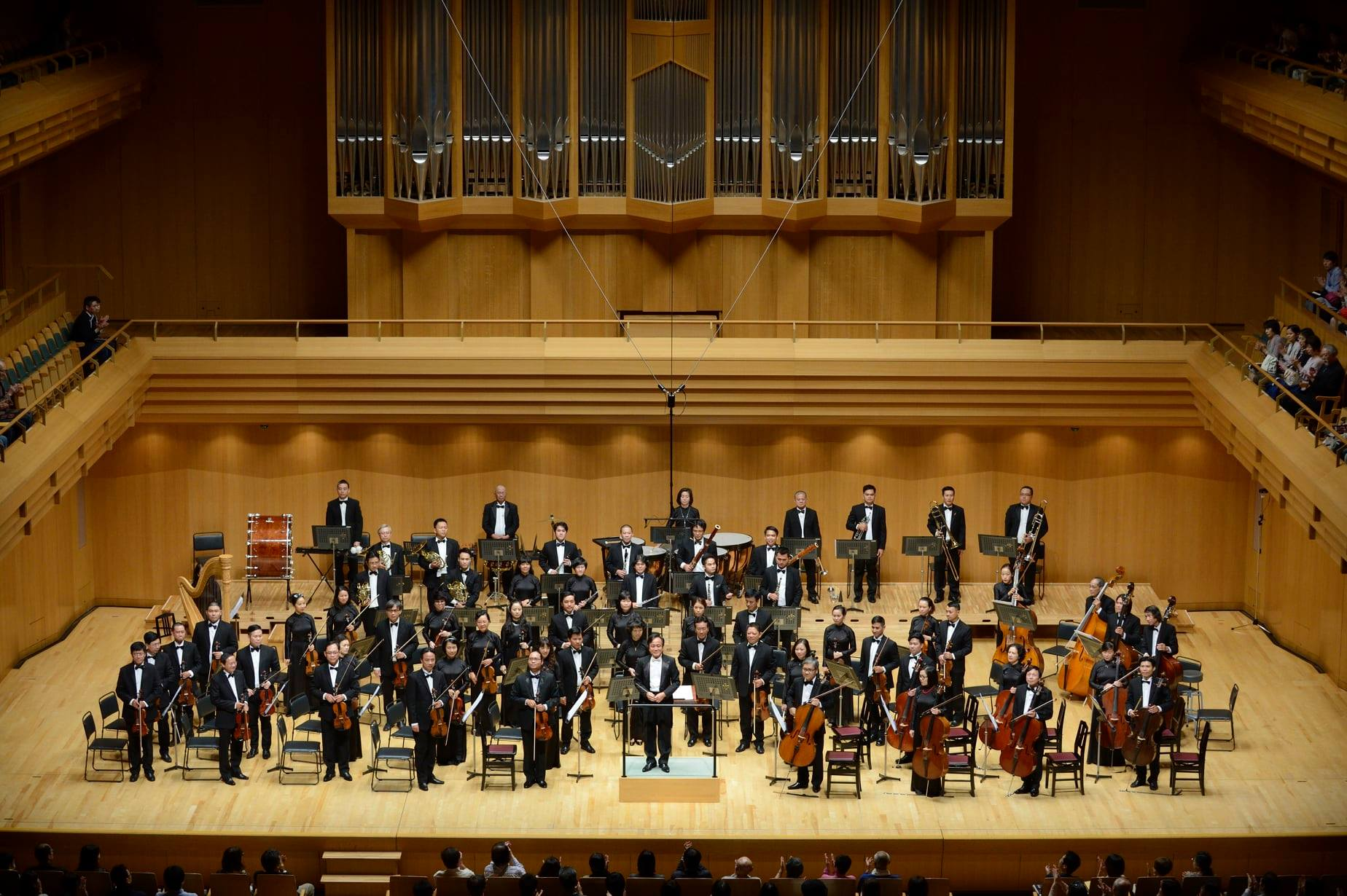 Performance of the Ho Chi Minh City Ballet Symphony Orchestra and Opera. Photo courtesy of HBSO.
