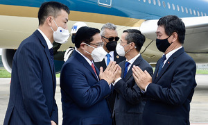Vietnam PM joins ASEAN summit on first overseas trip