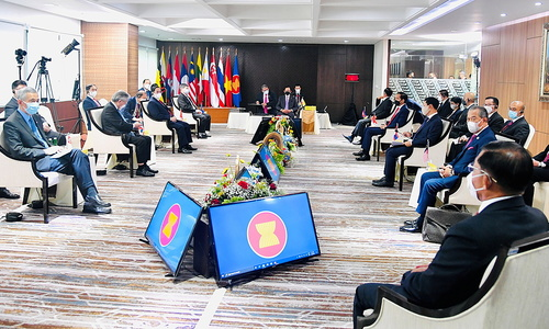 Southeast Asian nations say reach consensus on ending Myanmar crisis