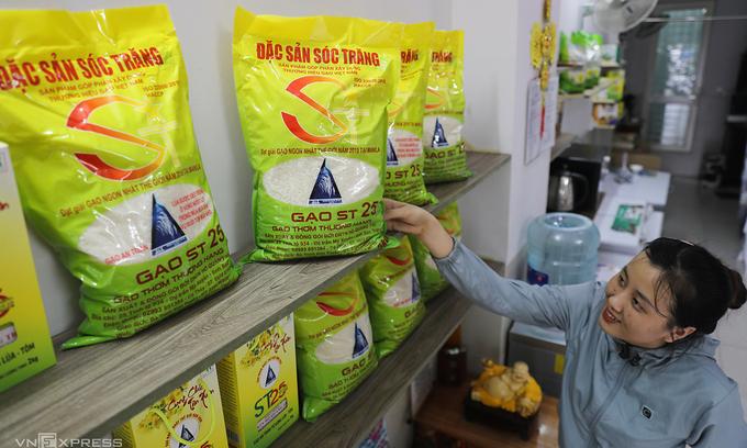 US firms cannot trademark Vietnamese ST25 rice