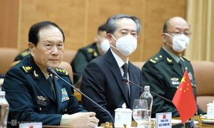 Chinese minister stresses importance of defense cooperation with Vietnam