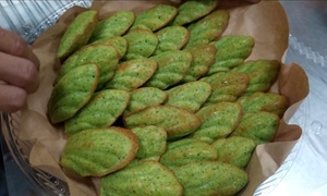 Home-grown veggie cakes from Nha Trang