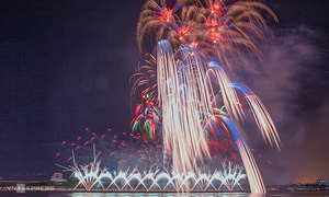 Da Nang cancels fireworks festival for 2nd year on Covid fears