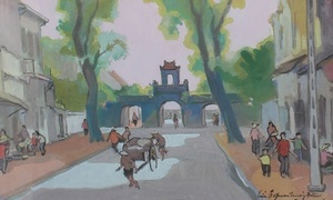 Colonial-era art, artifacts showcased in Hanoi exhibition