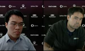 Vietnamese star begins international chess quarterfinal poorly