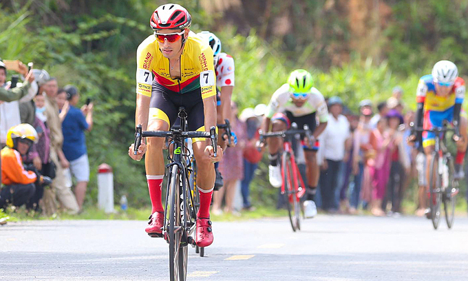 Spanish cyclist is king of mountains in HTV Cup