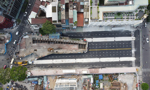 Metro construction site in downtown HCMC cleared after 7 years