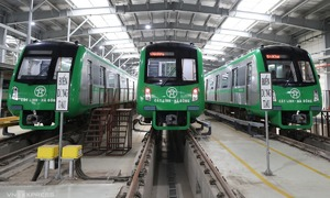Hanoi metro receives safety clearance from French consultant