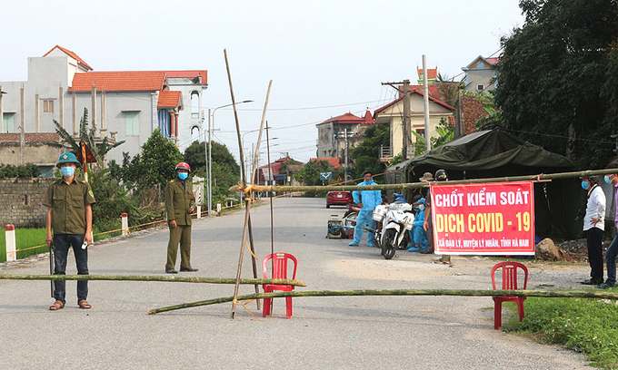 Ha Nam reports two more coronavirus-positive cases