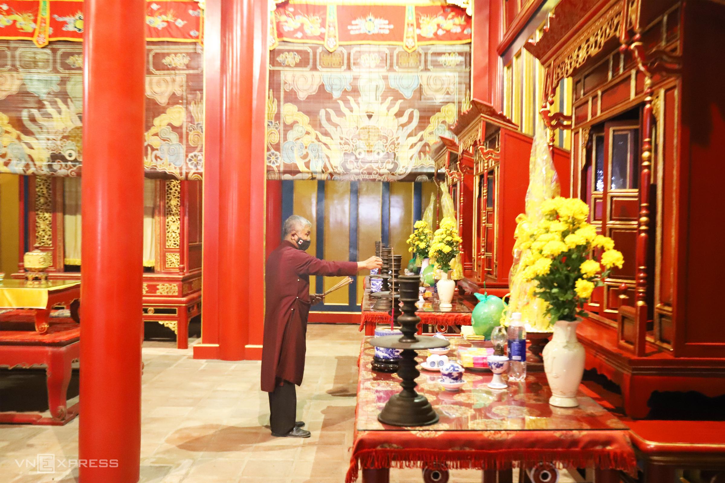 Downgraded Hue temple recalls era of Nguyen Dynasty ancestor worship