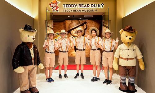 A peek inside museum for teddy bears