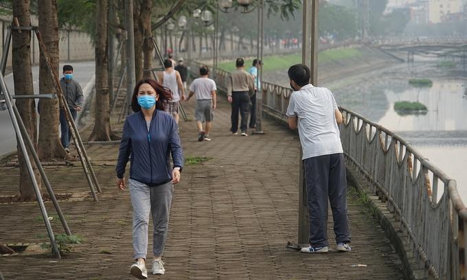 No exercising in public, Hanoi tells residents