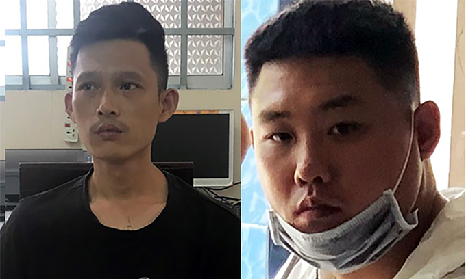 Two Chinese men arrested for kidnapping, extortion