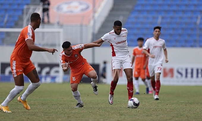 Viettel FC fined for yellow card deluge in league match