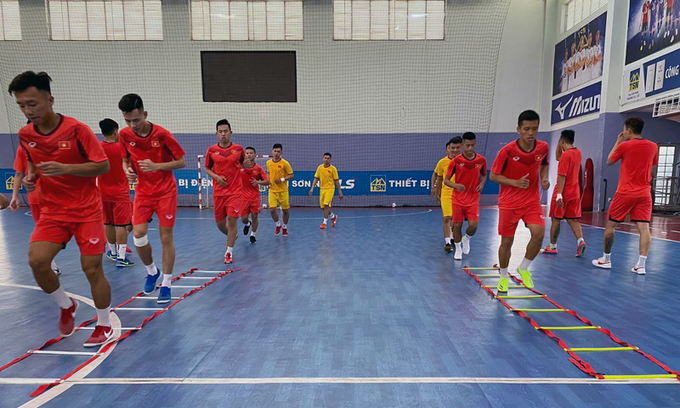 Vietnam futsal team to play Thailand ahead of World Cup playoff