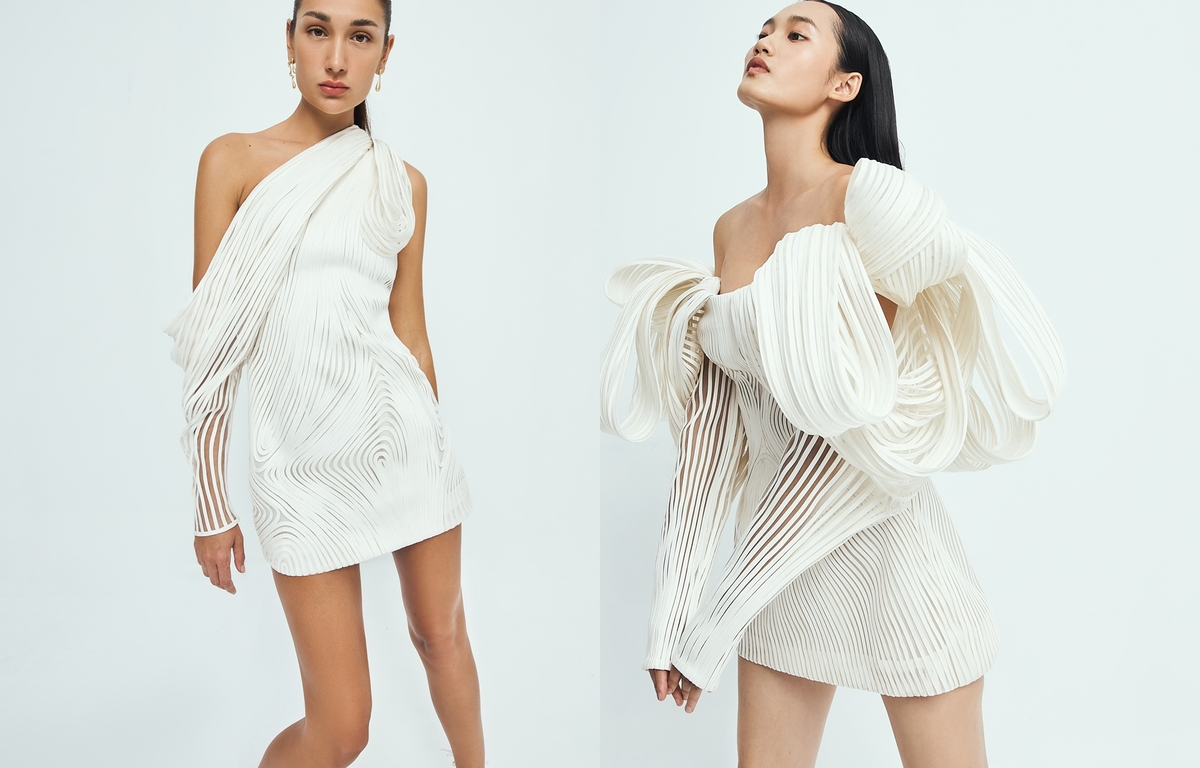 Vogue showcases Cong Tri's new collection