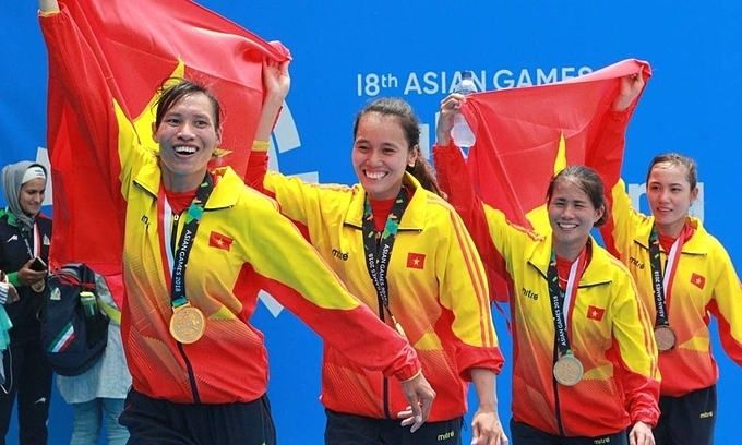 Women rowers grab two Olympic slots for Vietnam