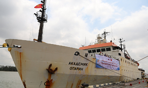 Vietnamese experts to study East Sea from Russian vessel