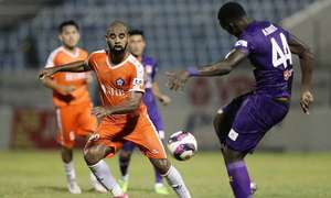 Brazilian forward exits second V. League club for poor form