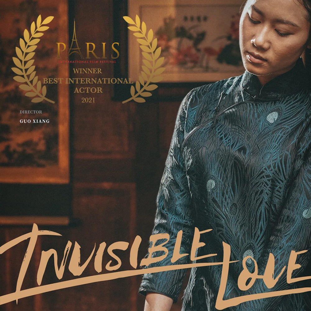 A poster of Invisible Love.