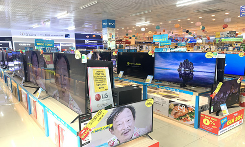Small TVs cost more as component prices surge