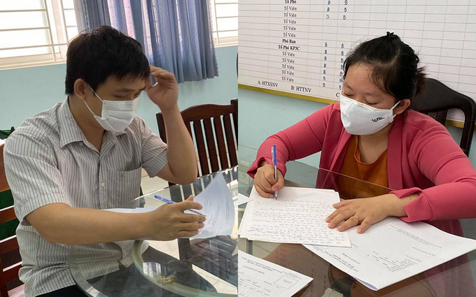 Department of Cybersecurity and Hi-tech Crime Prevention summons a marriage couple to investigate, in April 2020, for creating on posts online looking to buy social insurance books from workers in HCMC and Binh Duong Province.