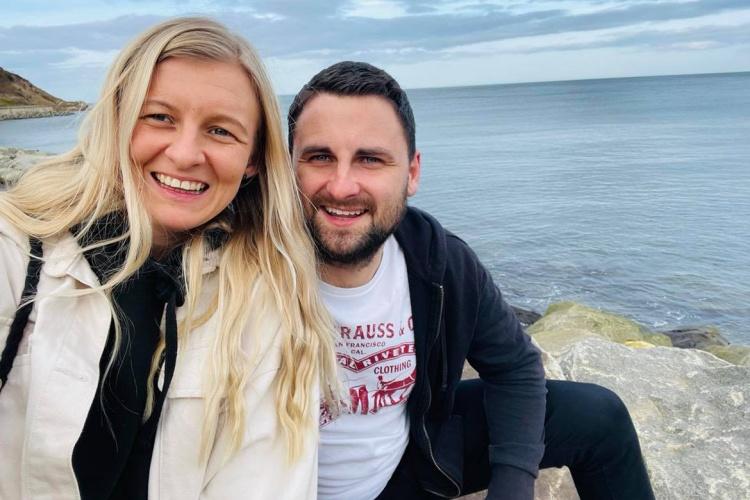 Abigail Weegram and her partner Chris are in UK before leaving for Vietnam. Photo courtesy of Abigail Weegram.