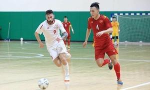 Vietnam draw Lebanon in first leg of Futsal World Cup playoffs