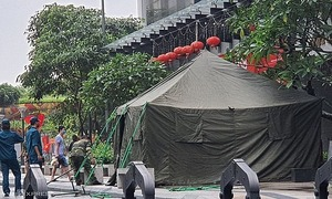 Hanoi election committee assistant tests coronavirus positive