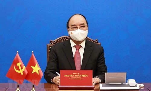 Vietnam's new president calls for closer ties in 1st call to China's Xi