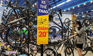 Mobile World expands into bicycle market
