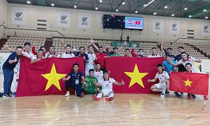 Vietnam overcome intense playoffs, qualify for Futsal World Cup