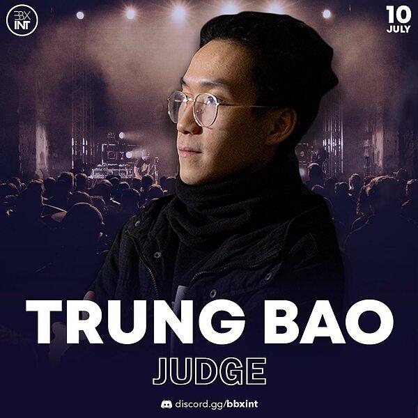 Nguyen Bao Trung, aka Trung Bao, on a promotional poster of International Throwdown 2021. Photo courtesy of Beatbox International.