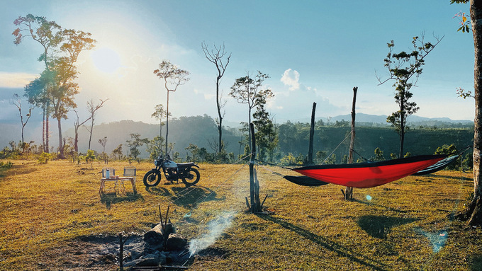 The Sun Hill in Binh Dinh Province where Des family camp out. Photo courtesy of Le Vinh De.