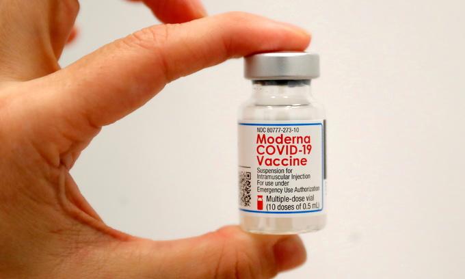 Vietnam holds talks to procure Moderna's Covid vaccine