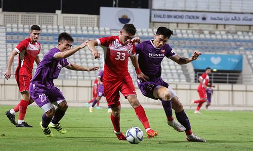 Vietnam draw Jordan in secret friendly
