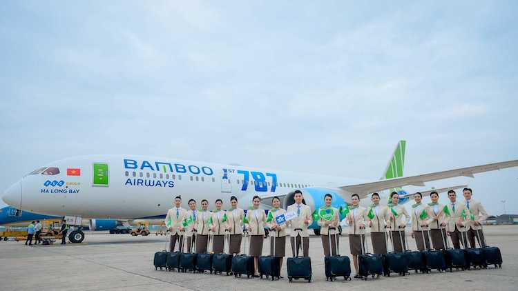 Bamboo Airways sets strict and comprehensive standards for flight attendants from the selection round.
