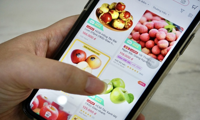 Online groceries shopping booms as HCMC practices social distancing