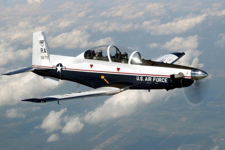 The T-6A Texan II. Photo by U.S Air Force.