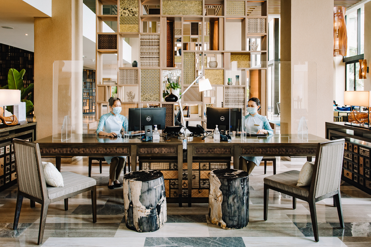 The resort is applying InterContinental Hotel Group's Clean Promise.