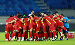 National football team hide jersey numbers before World Cup qualifier