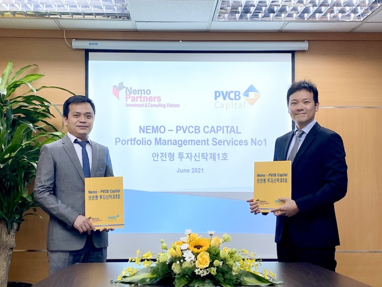 Signing ceremony between PVCB Capital and Nemo Partners. Photo by: PVCB Capital